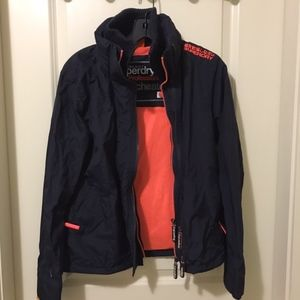 Superdry women jacket worn twice size small